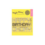 Waffle Flower Crafts - Clear Acrylic Stamps - Folded Happy