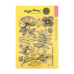 Waffle Flower Crafts - Clear Acrylic Stamps - Bouquet Builder 1