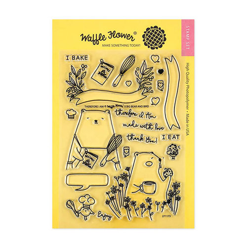 Waffle Flower Crafts - Clear Photopolymer Stamps - Therefore I Am