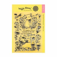 Waffle Flower Crafts - Clear Photopolymer Stamps - Smiling