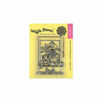 Waffle Flower Crafts - Clear Photopolymer Stamps - Picture Perfect