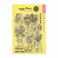 Waffle Flower Crafts - Clear Photopolymer Stamps - Let Love Grow