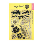 Waffle Flower Crafts - Clear Photopolymer Stamps - Carnations