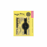 Waffle Flower Crafts - Clear Photopolymer Stamps - Sunshine