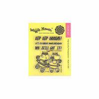 Waffle Flower Crafts - Clear Photopolymer Stamps - Hip Hip Hooray