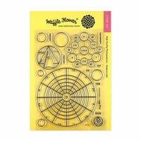 Waffle Flower Crafts - Clear Photopolymer Stamps - Color Wheels
