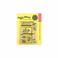 Waffle Flower Crafts - Clear Photopolymer Stamps - Sketch Book