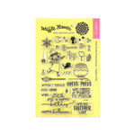 Waffle Flower Crafts - Halloween - Clear Photopolymer Stamps - Hocus Pocus