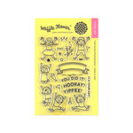 Waffle Flower Crafts - Clear Photopolymer Stamps - Yippee