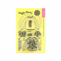 Waffle Flower Crafts - Clear Photopolymer Stamps - Sweater Weather