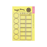 Waffle Flower Crafts - Clear Photopolymer Stamps - Color Swatches for Watercolors
