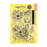 Waffle Flower Crafts - Clear Photopolymer Stamps - Magnolia