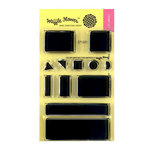 Waffle Flower Crafts - Clear Photopolymer Stamps - Color Swatches for Inkpads