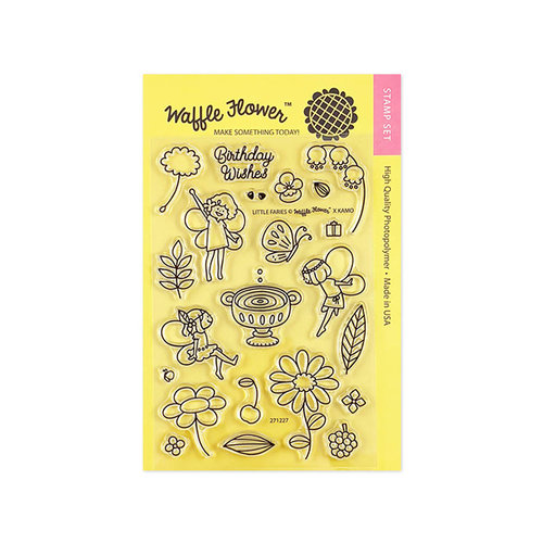 Waffle Flower Crafts - Clear Photopolymer Stamps - Little Fairies