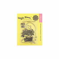 Waffle Flower Crafts - Clear Photopolymer Stamps - Lilac Dreams