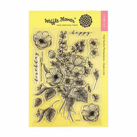 Waffle Flower Crafts - Clear Photopolymer Stamps - Bouquet Builder 3