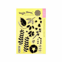 Waffle Flower Crafts - Clear Photopolymer Stamps - XOXO
