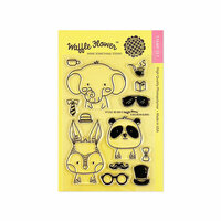 Waffle Flower Crafts - Clear Photopolymer Stamps - Be Him