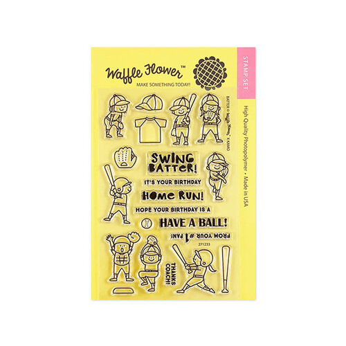 Waffle Flower Crafts - Clear Photopolymer Stamps - Batter