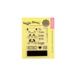 Waffle Flower Crafts - Clear Photopolymer Stamps - Animal Tags