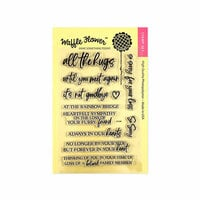 Waffle Flower Crafts - Clear Photopolymer Stamps - Rainbow Bridge