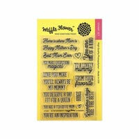 Waffle Flower Crafts - Clear Photopolymer Stamps - Be Her Sentiments