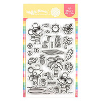 Waffle Flower Crafts - Clear Photopolymer Stamps - Fun in Sun