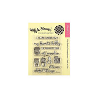 Waffle Flower Crafts - Clear Photopolymer Stamps - Favorite Hobby