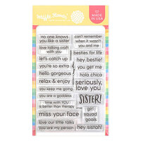 Waffle Flower Crafts - Clear Photopolymer Stamps - Sisterhood