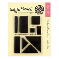 Waffle Flower Crafts - Clear Photopolymer Stamps - Color Combos for Inkpads