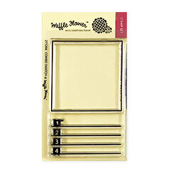 Waffle Flower Crafts - Clear Photopolymer Stamps - Combo Swatch