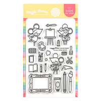 Waffle Flower Crafts - Clear Photopolymer Stamps - Little Artists