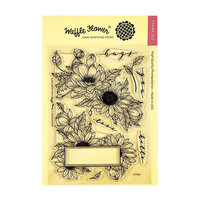 Waffle Flower Crafts - Clear Photopolymer Stamps - Sunflower Love