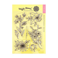 Waffle Flower Crafts - Clear Photopolymer Stamps - Bouquet Builder 6