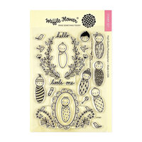 Waffle Flower Crafts - Clear Photopolymer Stamps - Little One Baby
