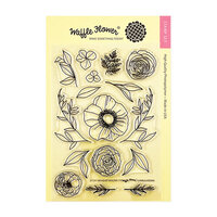 Waffle Flower Crafts - Clear Photopolymer Stamps - Bouquet Builder 7