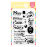 Waffle Flower Crafts - Clear Photopolymer Stamps - Home Brew