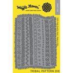 Waffle Flower Crafts - Craft Die - Tribal Pattern