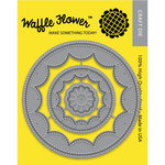 Waffle Flower Crafts - Craft Die - Flower Circles Inverted