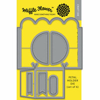 Waffle Flower Crafts - Craft Die - Template - Petal Holder