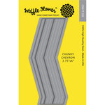 Waffle Flower Crafts - Craft Die - Chunky Chevron