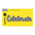Waffle Flower Crafts - Craft Die - Word - Celebrate