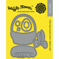 Waffle Flower Crafts - Craft Die - Egg Hunt