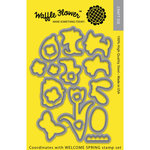 Waffle Flower Crafts - Craft Die - Welcome Spring