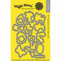 Waffle Flower Crafts - Craft Die - Welcome Spring