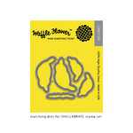 Waffle Flower Crafts - Craft Die - Shellabrate