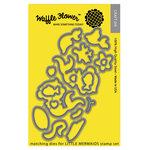 Waffle Flower Crafts - Craft Die - Little Mermaids