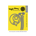Waffle Flower Crafts - Craft Die - Balloon Messages