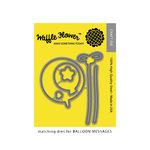 Waffle Flower Crafts - Craft Die - Balloon Messages