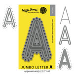 Waffle Flower Crafts - Craft Die - Jumbo Letter - A